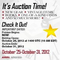 Arrl November Sweepstakes - get ready for the 7th annual arrl on line auction