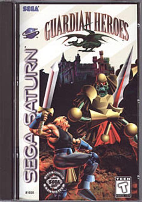 saturns pattern review guardian guardian heroes box art scans sega saturn review shin