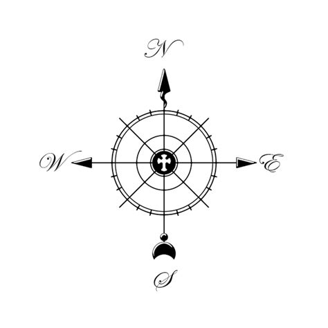 christian compass by hassified on deviantart