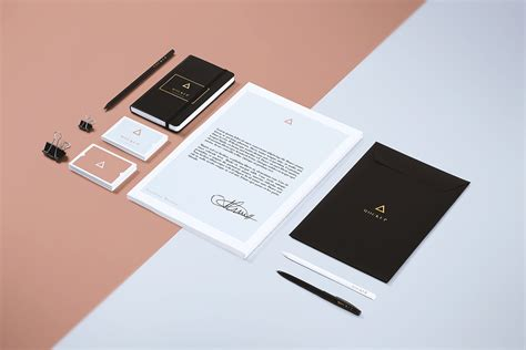 branding layout free download mockup zone free branding stationery mock up 05