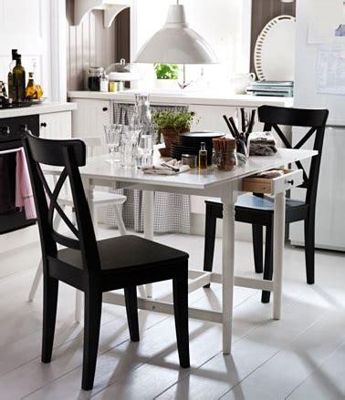 ik饌 table de cuisine petites tables de cuisine en 14 mod 232 les d 233 co gain de place