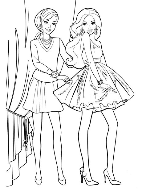 coloring book for fashion coloring page fashionfree coloring pages for
