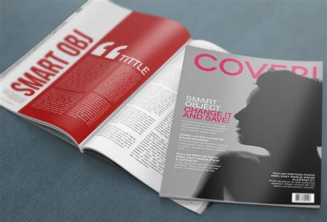 ideas mag free version free 4k magazine psd mockup graphicsfuel