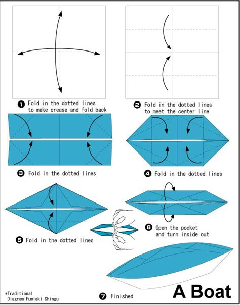 Steps To Make Paper Boat - 25 best ideas about origami boat on paper