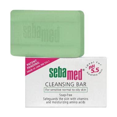 Krim Muka Sebamed jual sebamed cleansing bar sabun mandi 150 g