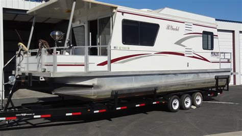 used houseboat trailers tracker 3510 myacht boat for sale from usa