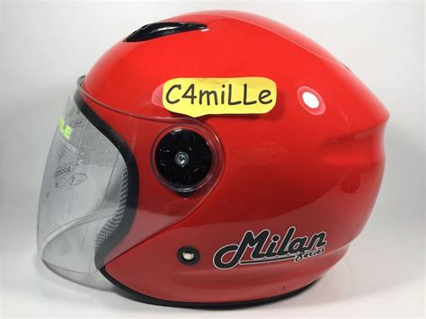 Helm Bmc Merah Jual Helm Bmc Milan Di Lapak Amanah Onlineshop