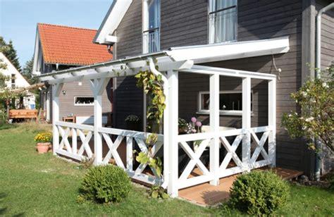 veranda weiss holz sch 246 ne terrassen 252 berdachung wenn die terrasse den