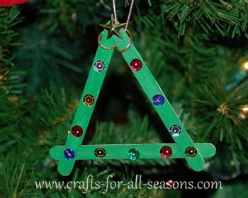 decorations for preschoolers to make preschool ornament craft