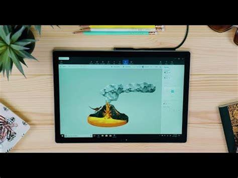windows 10 paint tutorial 3d in windows 10 tutorial create a volcano in paint 3d