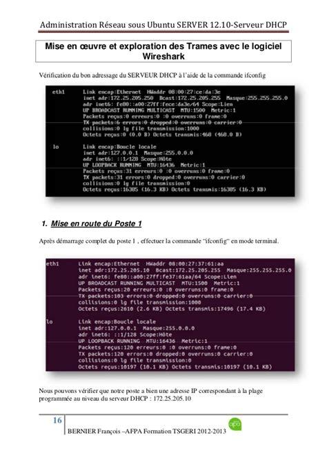 configure ubuntu server for dhcp dhcp sous ubuntu