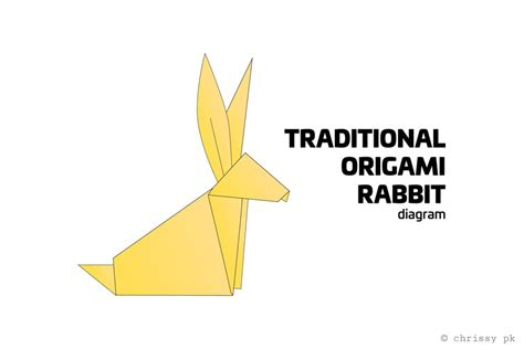 Easy Origami Rabbit - traditional origami rabbit