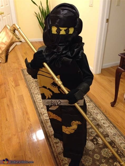 lego ninjago cole halloween costume diy instructions