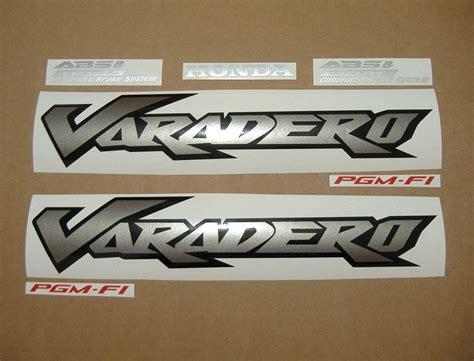 Sticker Honda Varadero by Honda Varadero Xl 1000v 2005 2006 Decals Set Blue