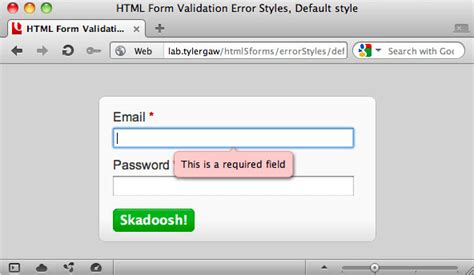form design error messages fun with html form validation styles by tyler gaw