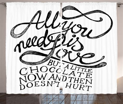 all you need for curtains all you need is love calligraphy quotes classic art print