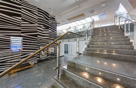 polished concrete steps stairs full exposure grind and