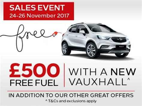 vauxhall free fuel event what s on in epsom