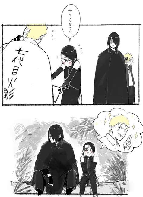boruto x sarada doujinshi naruto naruto uzumaki and sasuke uchiha on pinterest