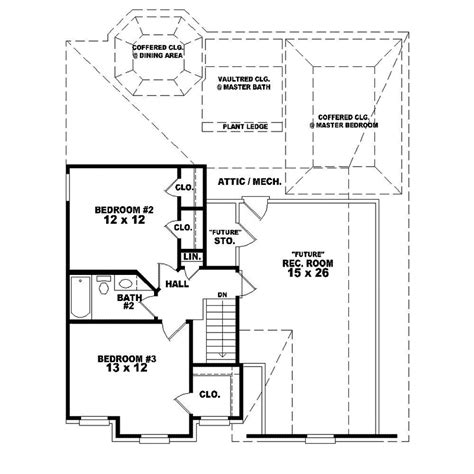 decker floor plan decker traditional home plan 087d 0295 house plans and more