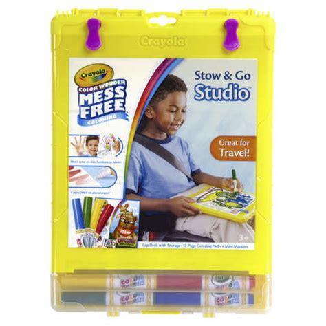crayola color studio crayola color stow go studio kit kmart