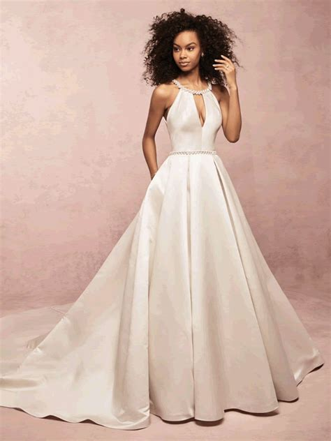 collette rebecca ingram satin wedding dress bournemouth dorset