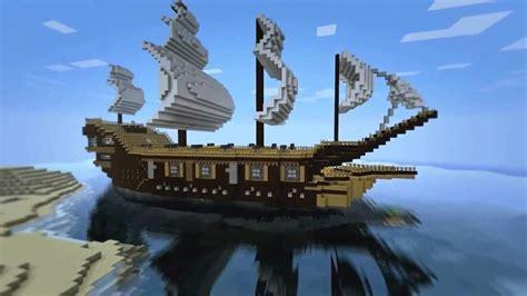 minecraft construction bateau pirate youtube - Minecraft Boat Construction