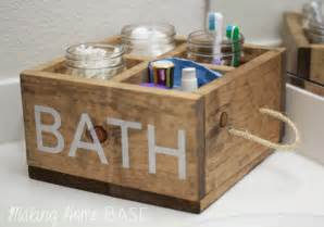 Bathroom Caddy Ideas Ana White Wood Caddy For The Bathroom Diy Projects