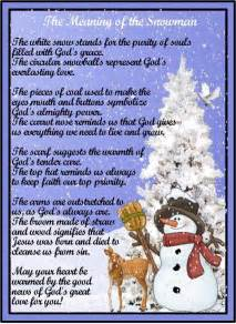 Legend of the snowman poem com view topic poem meaning