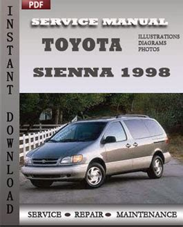 vehicle repair manual 1998 toyota sienna auto manual 1998 toyota sienna service manual download