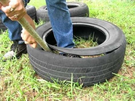 How To Turn A Tire Into A Planter by 17 Best Images About Re Scape Tutorials Tires And Rubber