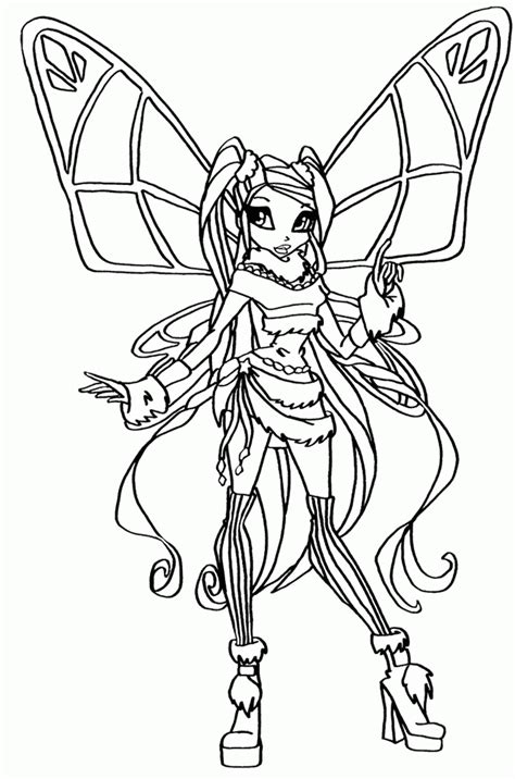 winx coloring pages pdf stella winx club coloring pages jpg coloring home