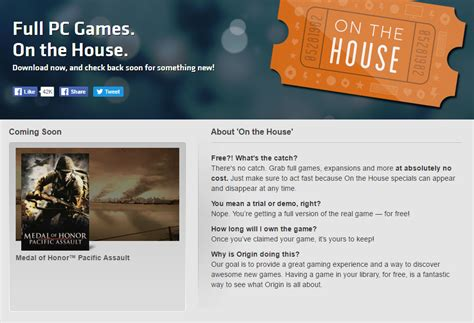 origin on the house new free game soon to be available on origin s on the house steam unpowered