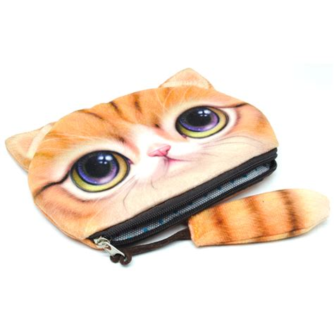 dompet koin kain model cat yellow jakartanotebook