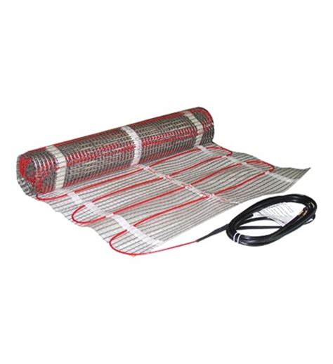 Electric Heat Mat by Danfoss 2 X 40 Electric Floor Heating Mat 80 Sq Ft 240v