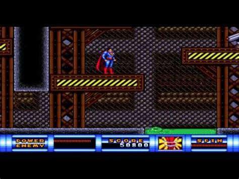 sega genesis superman 50 best images about retro consoles