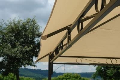 pavillon dach 3x4m wasserdicht pavillon metall 3x4m beige mit dach
