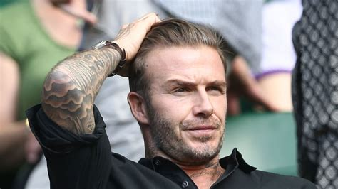 Beckham Huntering 8917 1 stolen emails expose david beckham s darker side