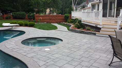 Big Backyard Landscaping Ideas Hardscape Services Nh
