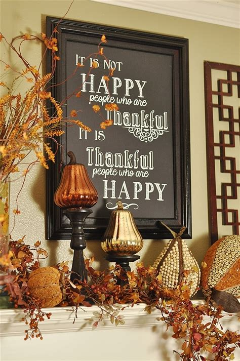 thanksgiving decor giveaways and a housekeeping