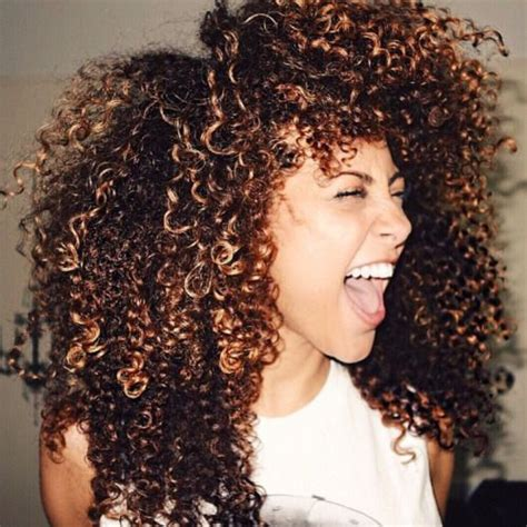 black hair tight curls best 25 highlights curly hair ideas on pinterest ombre