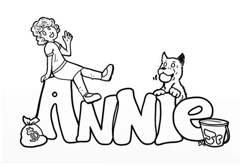 little orphan annie coloring pages cute coloring