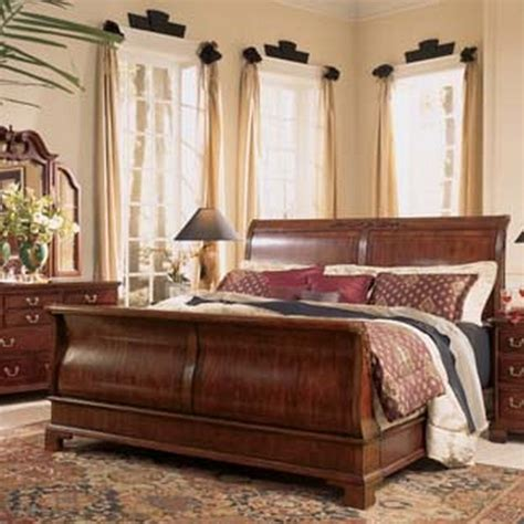 traditional bedroom sets american drew 791 306r cherry grove sleigh bed 6 6 traditional bedroom furniture sets