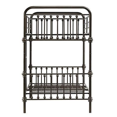 iron bunk bed frames product reviews buy kid s bunk bed frame wrought iron
