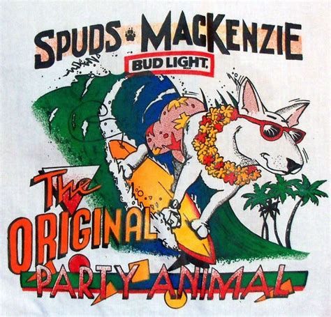 what of was spuds mackenzie bring back spuds mackenzie 187 clay soul