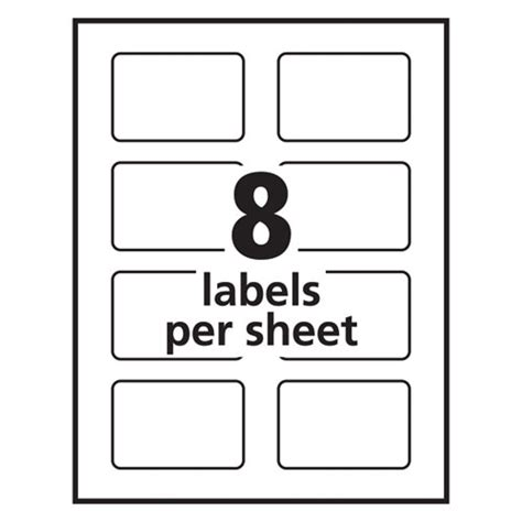 avery label template 18163
