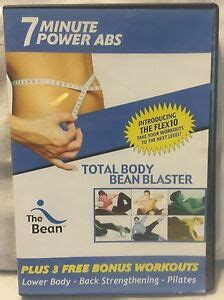the bean 7 minute power abs total bean blaster flex10 workouts exercise dvd ebay