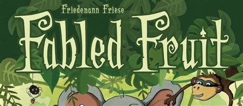 Fabled Fruit Board Original as a board gamer board reviews and the board gamer