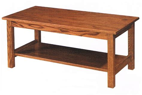 Coffee Table Mission Style Mission Style Coffee Table Ohio Hardword Upholstered Furniture