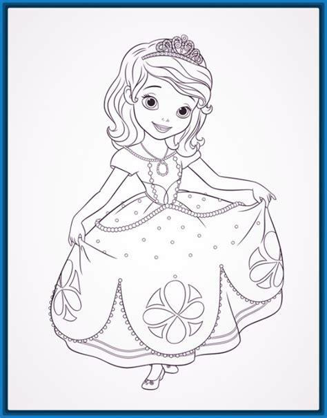 imagenes de good morning para niños para colorear dibujos imprimir princesas simple dibujos de las